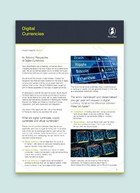 An External Perspective of Digital Currencies