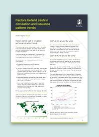 Factors behind cash in circulation