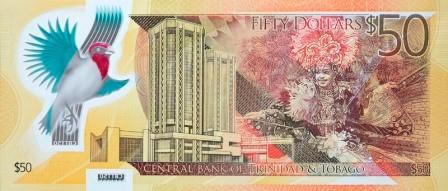 Trinidad and Tobago $50 back
