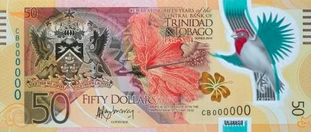 Trinidad and Tobago $50 front