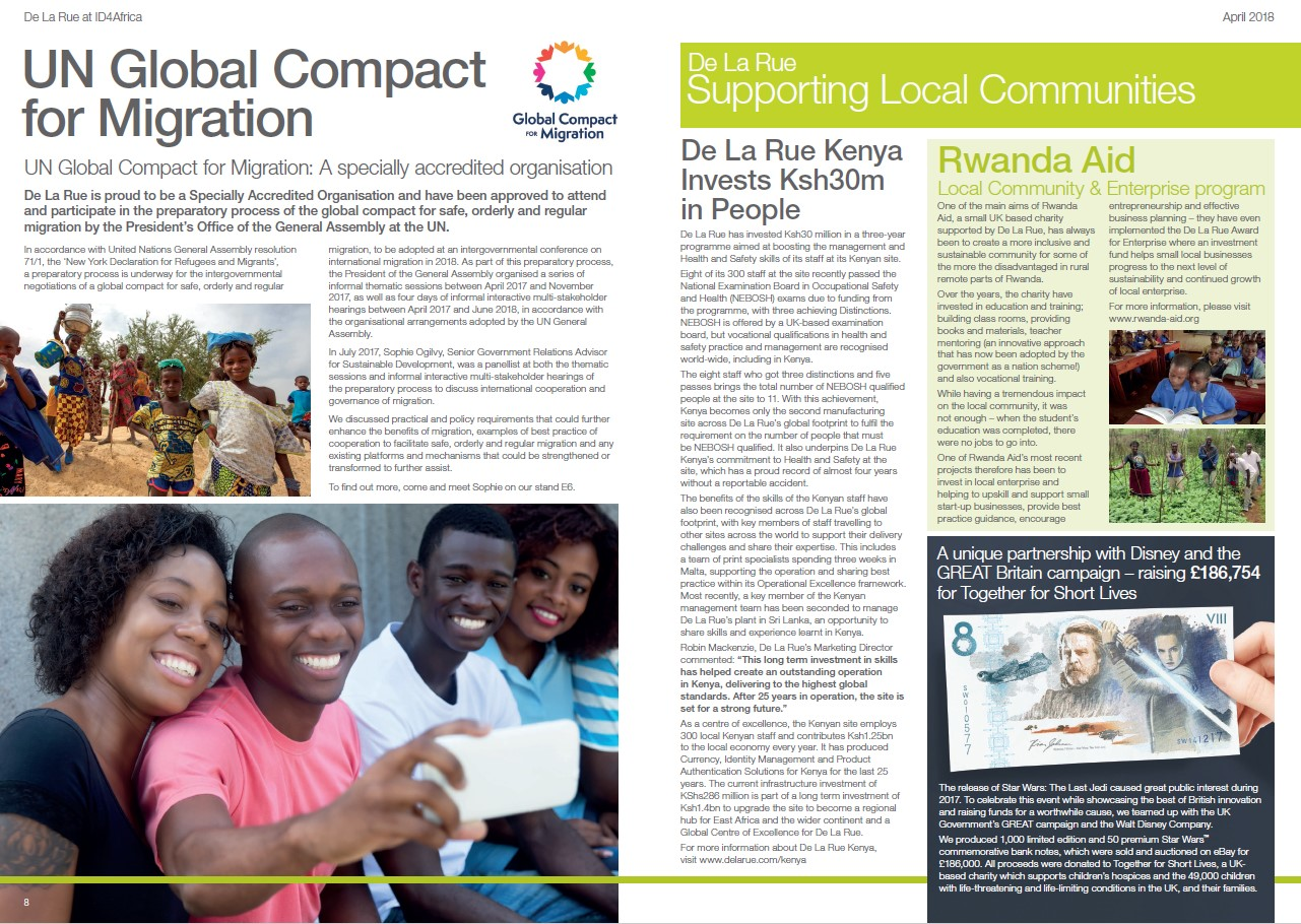 ID4Africa 2018 Newsletter - Local Communities