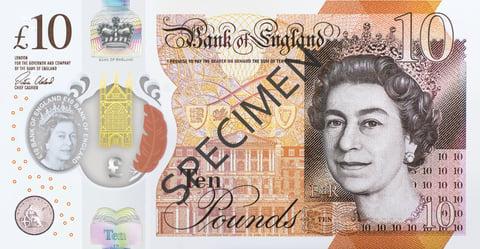 uk ten pound front image