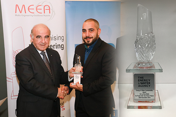 De La Rue Malta wins the Energy & Water Sustainability Award 2019