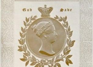 1838 - coronation of Queen Victoria