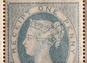 1853 - Board of Inland Revenue stamps